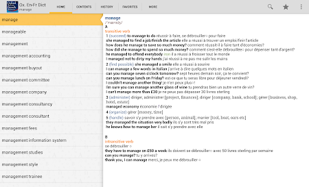 Oxford French Dictionary TR 4.3.136 screenshot 75243