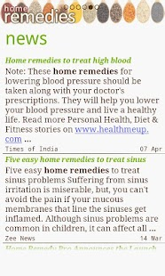 Home Remedies - Natural Cure- screenshot thumbnail