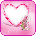Pink Heart Frames icon