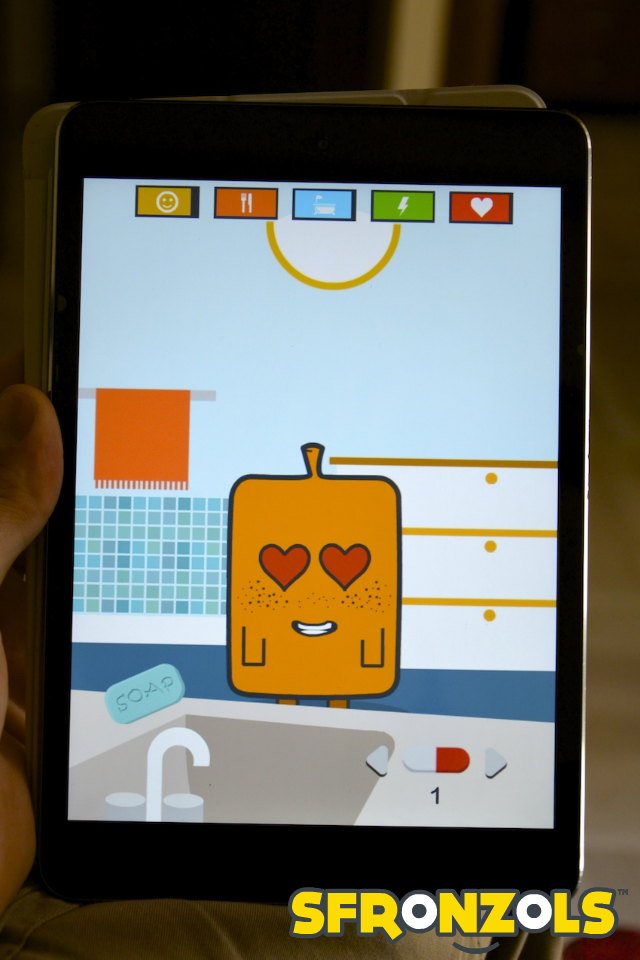 Sfronzols - Virtual Pet screenshot #2
