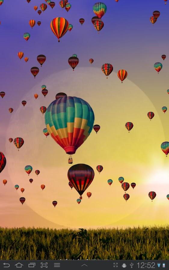 Hot Air Balloons Wallpaper Screenshot 0
