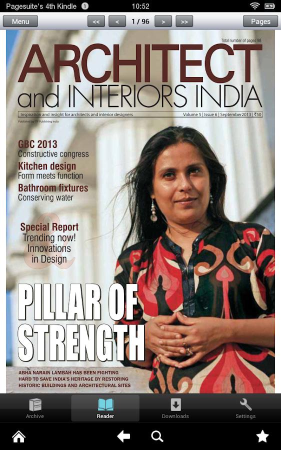 Architect & Interiors India- screenshot