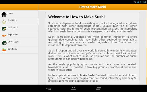 免費下載教育APP|How to Make Sushi app開箱文|APP開箱王