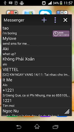 Messenger Small App