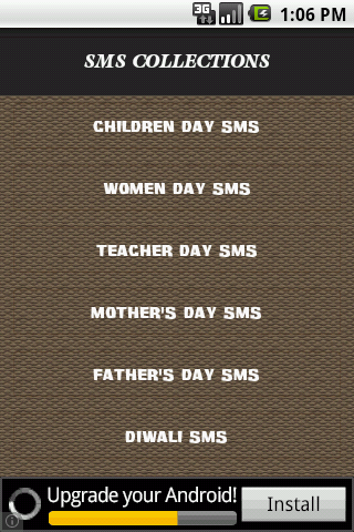 70000+ Days SMS Collections