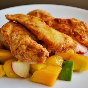 Chicken Paprika With Spices