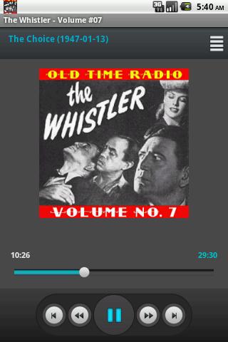 The Whistler Old Time Radio V7