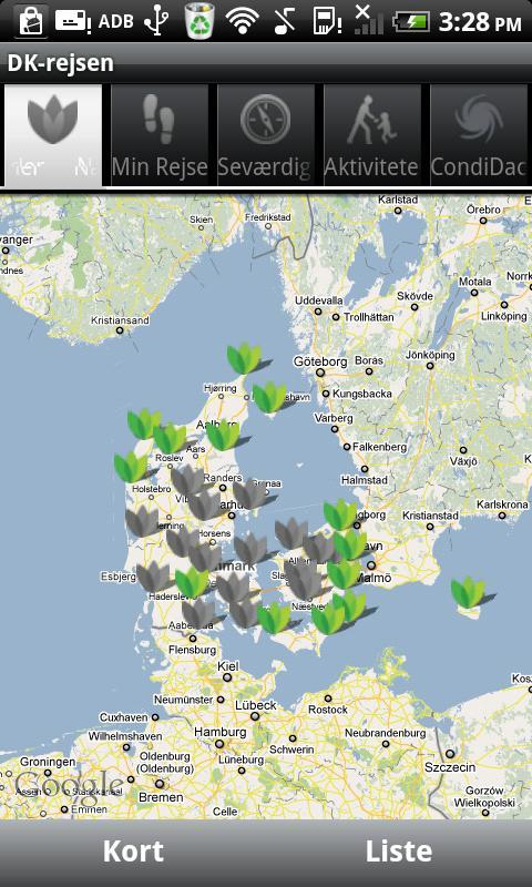 Danmarksrejsen- screenshot