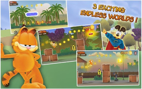 Garfield's Wild Ride - screenshot thumbnail