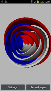 3D Super Sphere Live Wallpaper- screenshot thumbnail