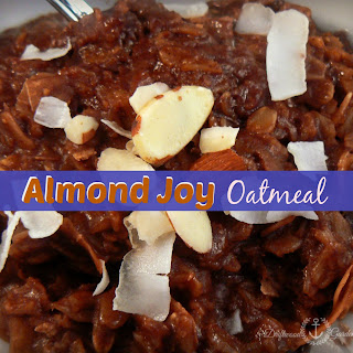 Sunday Breakfast - Almond Joy Oatmeal