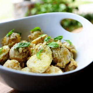 Creamy Lemon Basil Potato Salad.