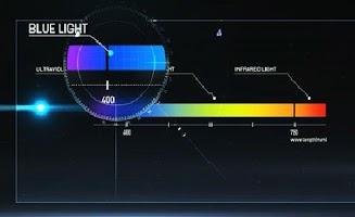 Screenshot of Screen Filter Anti Blue Light