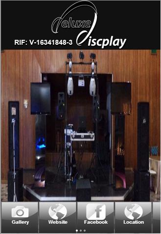 Deluxediscplay sonido display