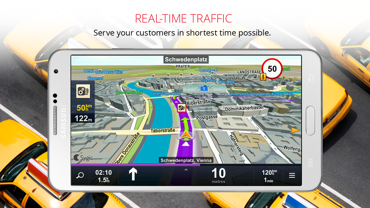 Sygic Taxi Navigation- screenshot