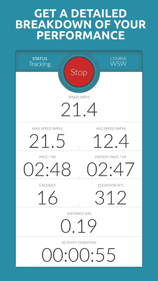 Map My Tracks+ Run Ride Walk - screenshot