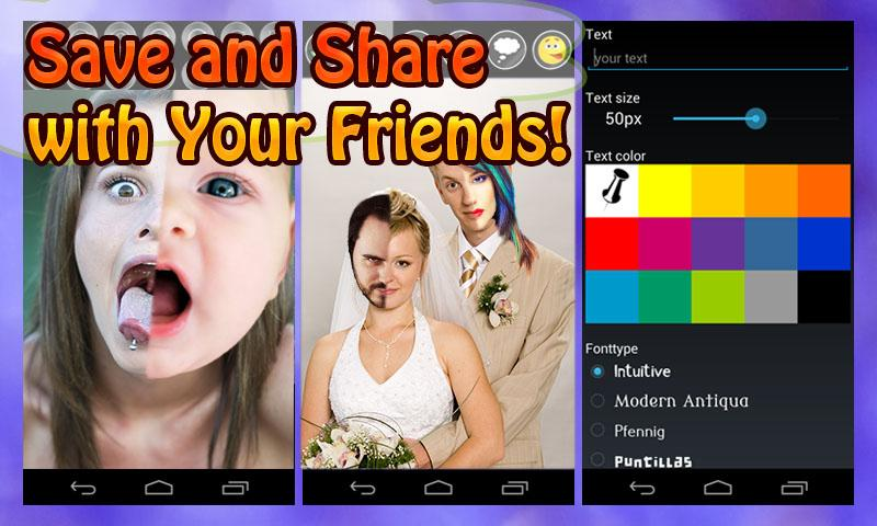 2 Face Maker: Fun Photo Editor- screenshot