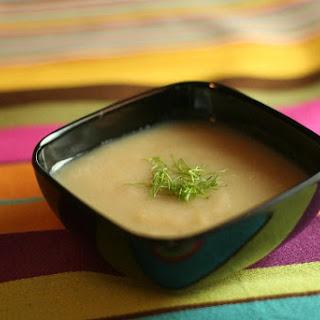 Cauliflower Fennel Soup.