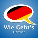 Learn German – Wie Geht's logo