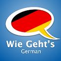 Learn German – Wie Geht's logo