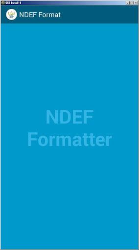 NFC Formatter