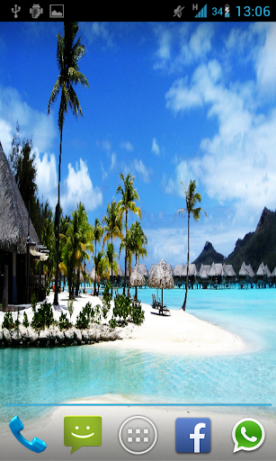 Bora Bora live Wallpaper HD