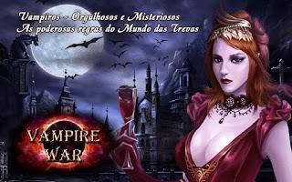 Screenshot of Vampire War - Português