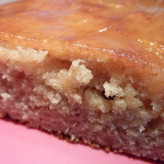 Almond and Quince Cake.