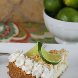 Lime Coconut Cheesecake.