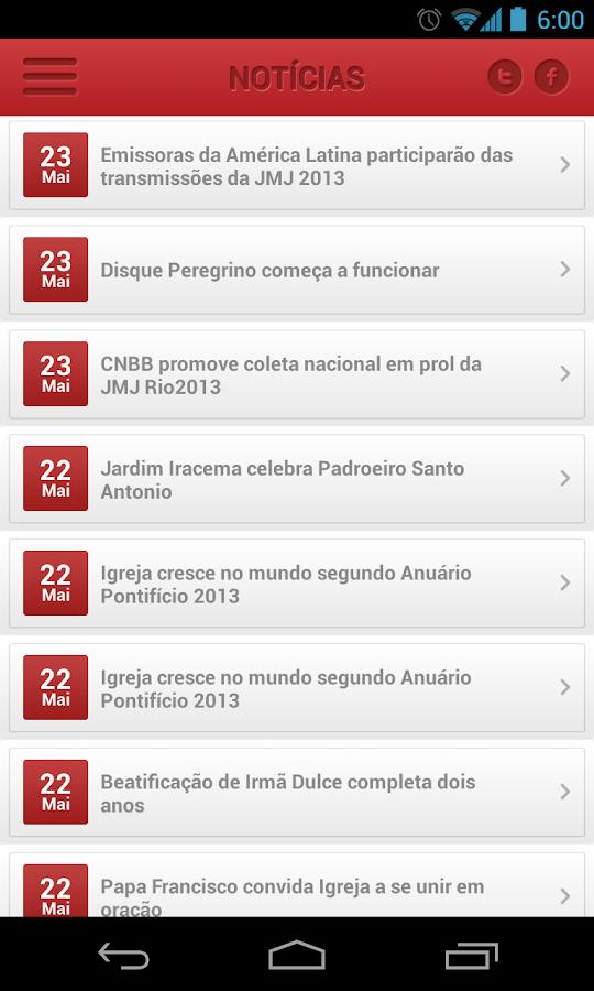 Rede Católica de Rádio- screenshot