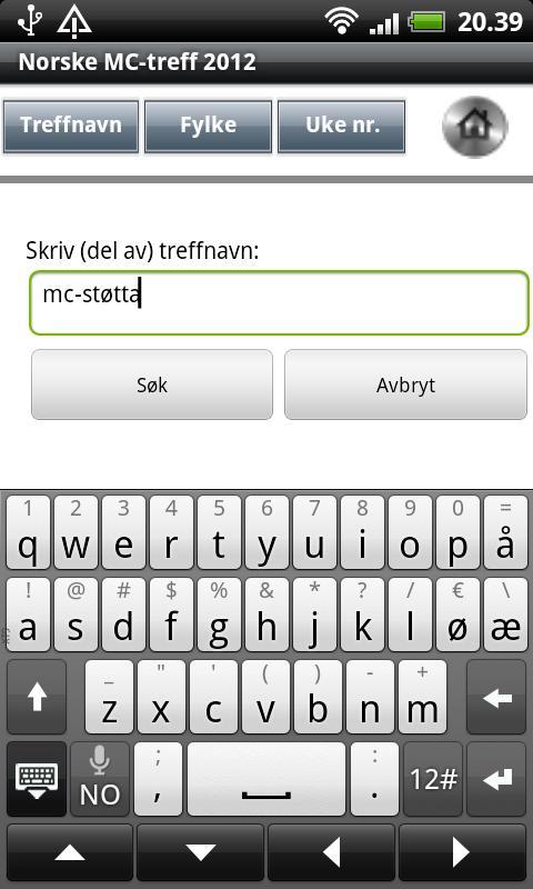 Norske MC-treff 2013 - screenshot