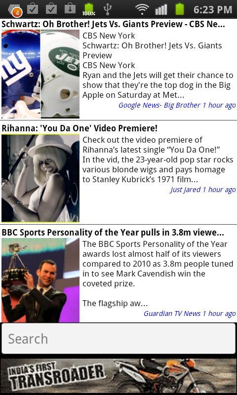 Mobo TV News & Listings - screenshot