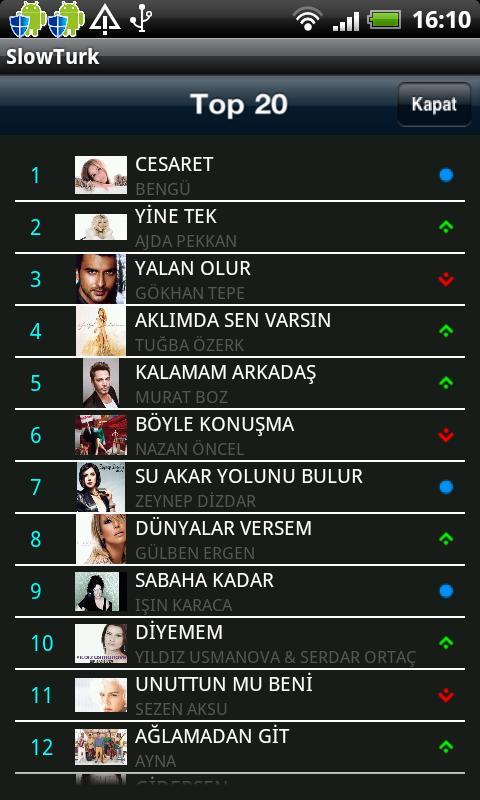 SlowTürk Radyo- screenshot