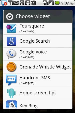 Grenade Whistle Widget- screenshot