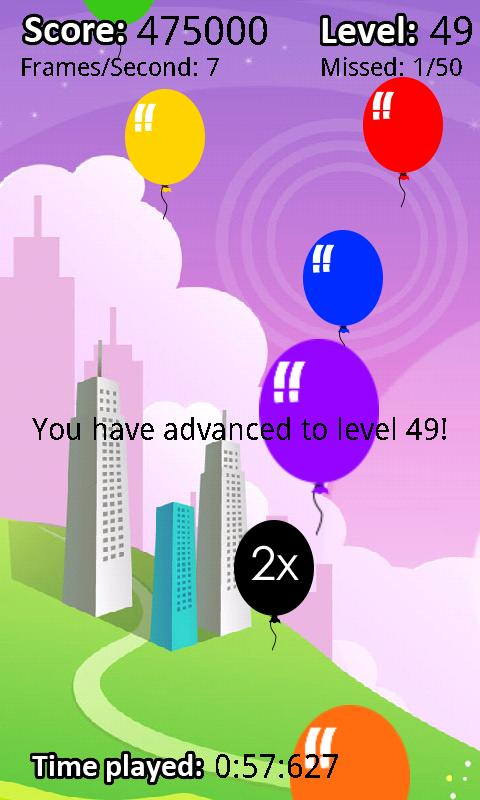 Balloon Frenzy- screenshot