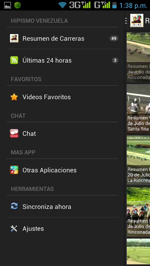 Hipismo de Venezuela Móvil - screenshot