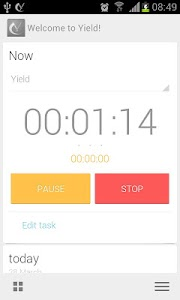 Yield Timesheet (Beta) screenshot 3