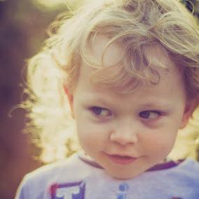 by Keren Woodgyer - Babies & Children Toddlers ( child, face, blonde, toddler, smile, close up )