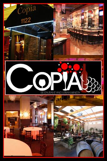 Copia Restaurant Wine Garden