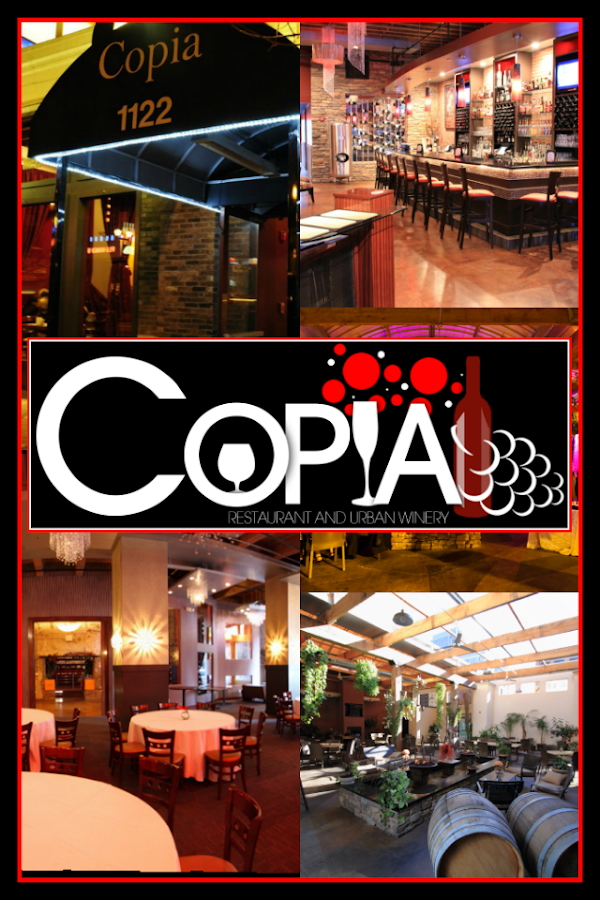 Copia Restaurant Wine Garden Android Apps On Google Play
