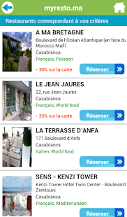 Applications android sur google play for Sur la table application