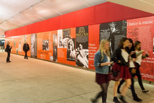 Bolshoi Ballet - QPAC themed tunnel