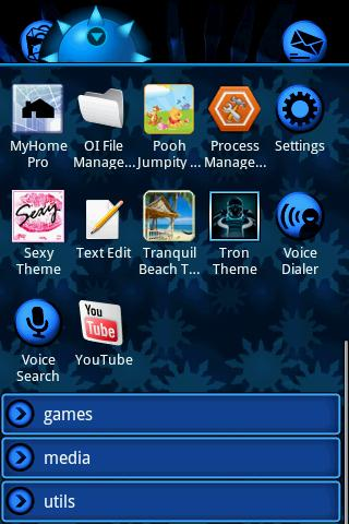Eon Blue Theme - screenshot