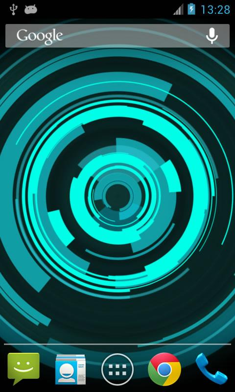Holo Ring Live Wallpaper - screenshot