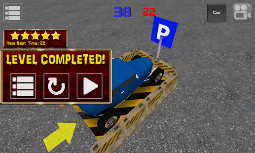 Classic Car Parking 3D Light - screenshot thumbnail