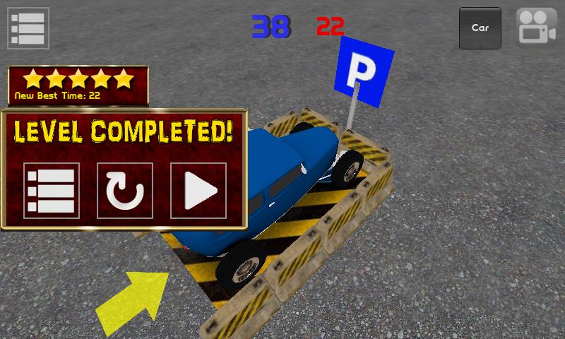 Classic Car Parking 3D Light - screenshot