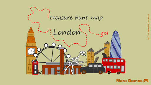 London Treasure Hunt Map