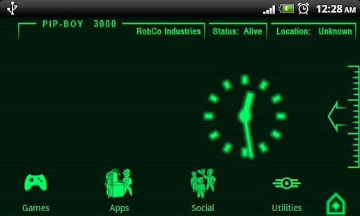 PipBoy 3000 Fallout 3 Theme - screenshot thumbnail
