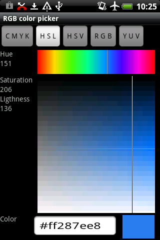 Rgb Color Picker - screenshot