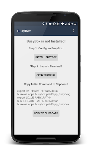 BusyBox Install No Root